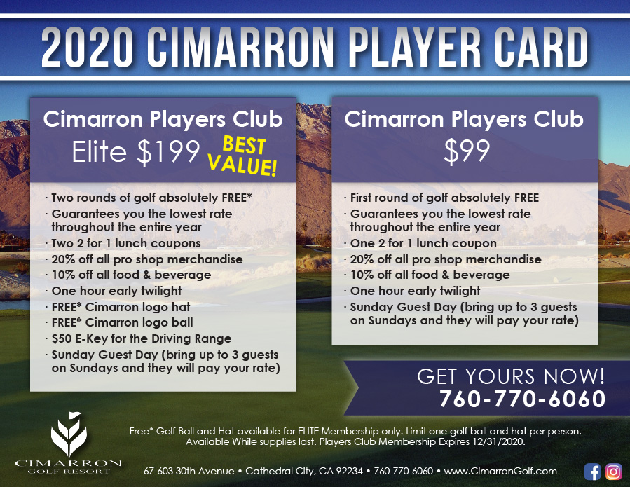 Summer Players Card Flyer